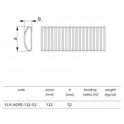 Flexibilná HDPE hadica