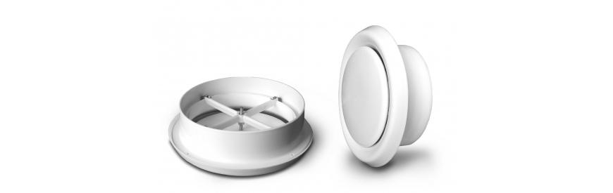 Plastové tanierové ventily