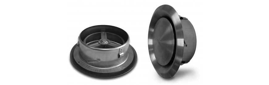 Nerezové tanierové ventily