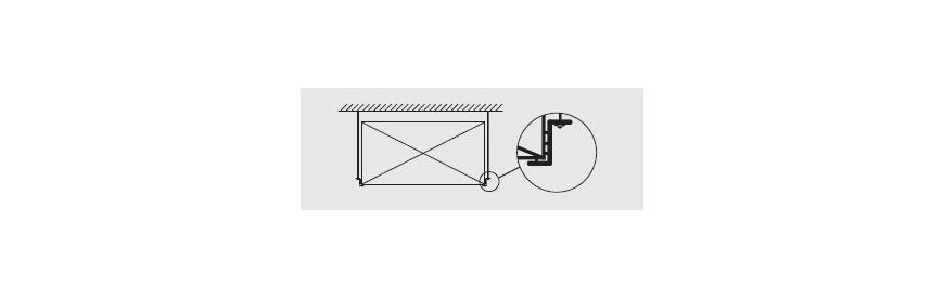 Závesy na hranaté potrubie