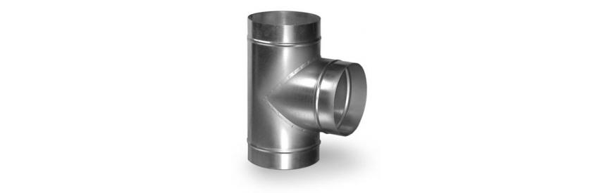 Tvarovky kruhového vzduchotechnického potrubia